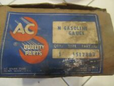 1954 BUICK SUPER ROADMASTER NOS GAS GAUGE- SOME WATER DAMAGE 1517887