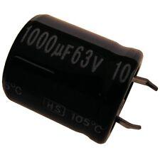 Elko Kondensator Jamicon HS 63V 1000uF RM10 22x25mm 105°C Snap-in 854283