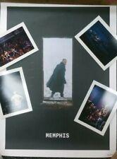 Justin Timberlake Concert Poster - Memphis, Man of the Woods Tour