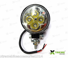 4 Cree LED 12w Fog DRL Off Road SUV Bar Light For TVS Scooty