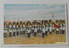 Image CHROMO COTE D'OR Collection FOLKLORE BELGE N°42 - FOSSE - Grenadiers