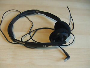 Sennheiser PX 100 II Foldable Folding Black Headphones in VGC