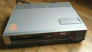 Sony SL-C20UB Betamax (240v PAL) - overhauled and serviced