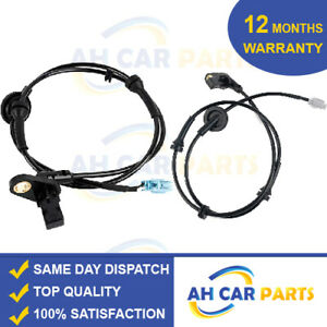 2X ABS SPEED SENSOR FOR NISSAN X-TRAIL T30 (2001-2013) FRONT LEFT AND RIGHT