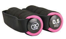 Fitness Mad Pro Aerobic Fitness Exercise Pair Sports Running Hand Weights 0.5 KG