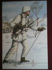 POSTCARD 2ND BN ROYAL REGIMENT OF FUSILIERS - 2ND LIEUTENANT (NORWAY) 1991 ALIX