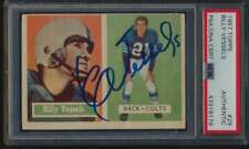 1957 Topps #29 Billy Vessels    Autographed PSA/DNA Authentic 53299