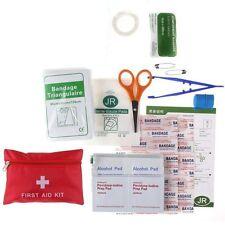 FIRST AID KIT Erste-Hilfe-Set Tasche Verbandstasche für Reisen Auto und zu Hause