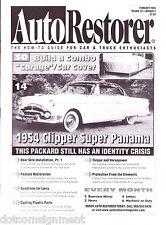 Auto Restorer Magazine Feb 2004 Car & Truck Enthusiasts '54 Clipper Super Panama