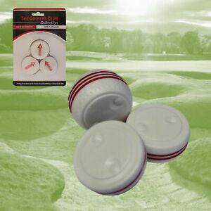 Putt It Straight, Golf Putting Aid, Set of 3 x Putting stroke Improvement Aids