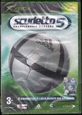 Scudetto 5 Championship Manager Videogioco XBOX Sigillato 5032921022408