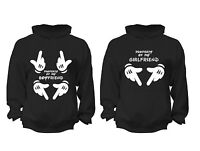 2 FOR 1 SALE: Girlfriend properity Couples Matching soft Black Unisex Hoodie