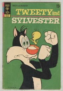 Tweety and Sylvester #22 February 1972 VG-