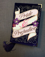 Olympia Le Tan inspired hand made book clutch Pride & Prejudice