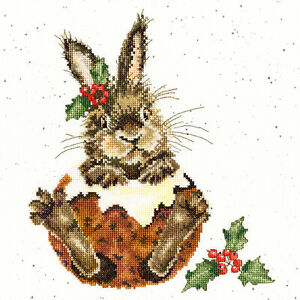 Bothy Threads ~ Counted Cross Stitch Kit ~ Little Pudding ~ XHD90