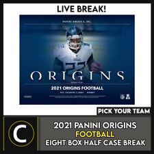 2021 Caja de 8 de fútbol PANINI ORIGINS (mitad Case) romper #F804 - Elige Tu Equipo
