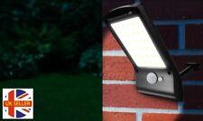 36 SMD LED PIR Motion Solar Powered Sensor Wall Light Outdoor Garden Garage