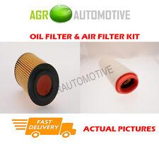 DIESEL SERVICE KIT OIL AIR FILTER FOR LAND ROVER FREELANDER 2.0 111 BHP 2000-06