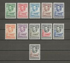 More details for bechuanaland 1938-52 sg 118/28 mint cat £110
