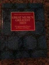 Reader's Digest Family Music Book great music's greatest hits piano organ songs