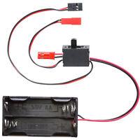 Batteriebox 4 x Mignon Typ AA mit BEC Stecker und Schalterkabel BEC JST auf JR G