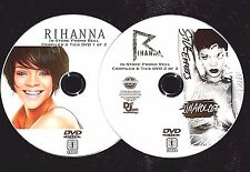 Rihanna In-Store Promo Music Video Reel with 50 Music Videos 2 DVD Set ANTI 2016