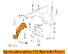 Mercedes MERCEDES-BENZ OEM C350-Front Fender Liner Splash Shield Left 2046906030