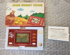 VINTAGE 80s# SUNWING LCD GAME  HOME SWEET HOME GAME & WATCH#NIB