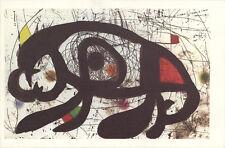 1000 Miro 1979 Untitled (horizontal, no text) Postcards