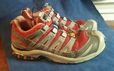 Salomon Woman's XA Pro 3D Ultra 2 Trail Running Shoe, Red/Gray 8.5 US ys8 643001
