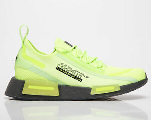 adidas Originals NMD_R1 Spectoo Men's Signal Green Grey Lifestyle Sneakers Shoes