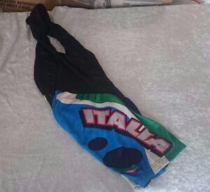 RARE Castelli Italia Multi Color BIB Size S No Reserve!