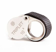 "Shvabe 10x Triplet Loupe Magnifier. 16mm (.62"") NEW. Jewelry Instrument."