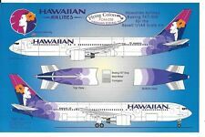 Flying Colors Hawaiian Airlines Boeing 767-300 Decals 1/144 FC 44 039 For Revell