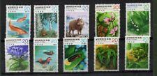 Korea Nature Conservation Series Stamp sets MNH
