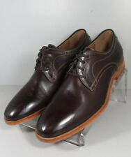 271242 FT50 Men's Size 11.5 M Dark Brown Leather 1850 Series Johnston & Murphy