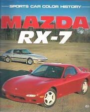 MAZDA RX-7 RX7 MK1 MK2 MK3 COUPE (1979-1993) DESIGN & DEVELOPMENT HISTORY BOOK