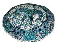 Ottoman Floor Cover Mandala Pillow Cushion Indian Round Throw Pouf Large Pillow