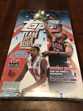 2000 Topps Team USA Basketball Sealed HOBBY ONLY Box Jordan Game Used AUTO s