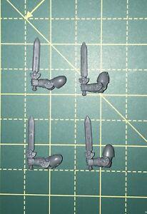Deathwatch Veteran Power Sword Bitz X 4 Warhammer 40k Space Marines