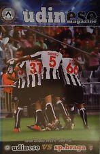 Programm UEFA EL 2012/13 Udinese Calcio - Braga FC