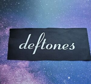 Deftones Cloth Patch Sew On Band Patches Rock Music