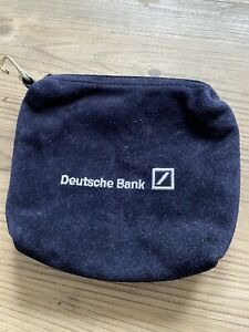 German Bank Suede  Bag