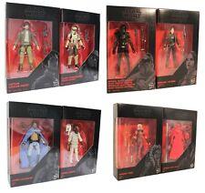 Star Wars-The Black Series dif. 2er Pack figuras de acción 9,5cm para niños nuevo