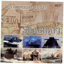PALAU 2004 - 60TH ANNIVERSARY D-DAY SHEET OF 6 STAMPS MNH
