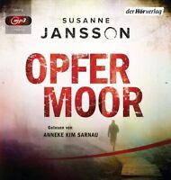 OPFERMOOR - ANNEKE KIM SARNAU -HÖRBUCH  MP3 CD NEW