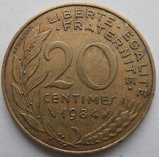 FRANCIA 20 CENTESIMI 1984