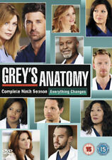 Grey's Anatomy - Series 9 - Complete (DVD, 2013, 6-Disc Set, Box Set)
