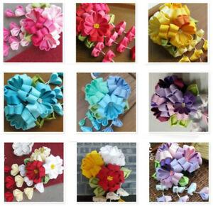 Japanese Sakura Hair pin Flower for Kimono Tassel Hair Accessory Women Girl Gift