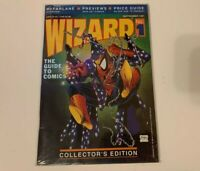 Wizard: The Guide to Comics #1 (Sept 1991) Todd McFarlane Spider-Man Cover